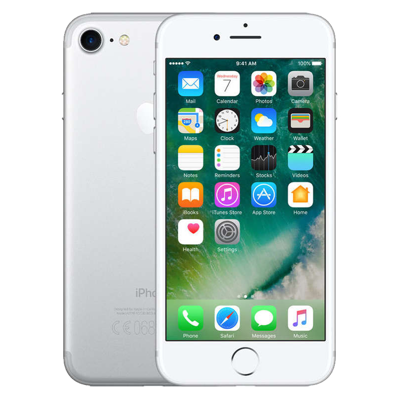 apple iphone 7 32gb zilver refurbished met garantie. Black Bedroom Furniture Sets. Home Design Ideas